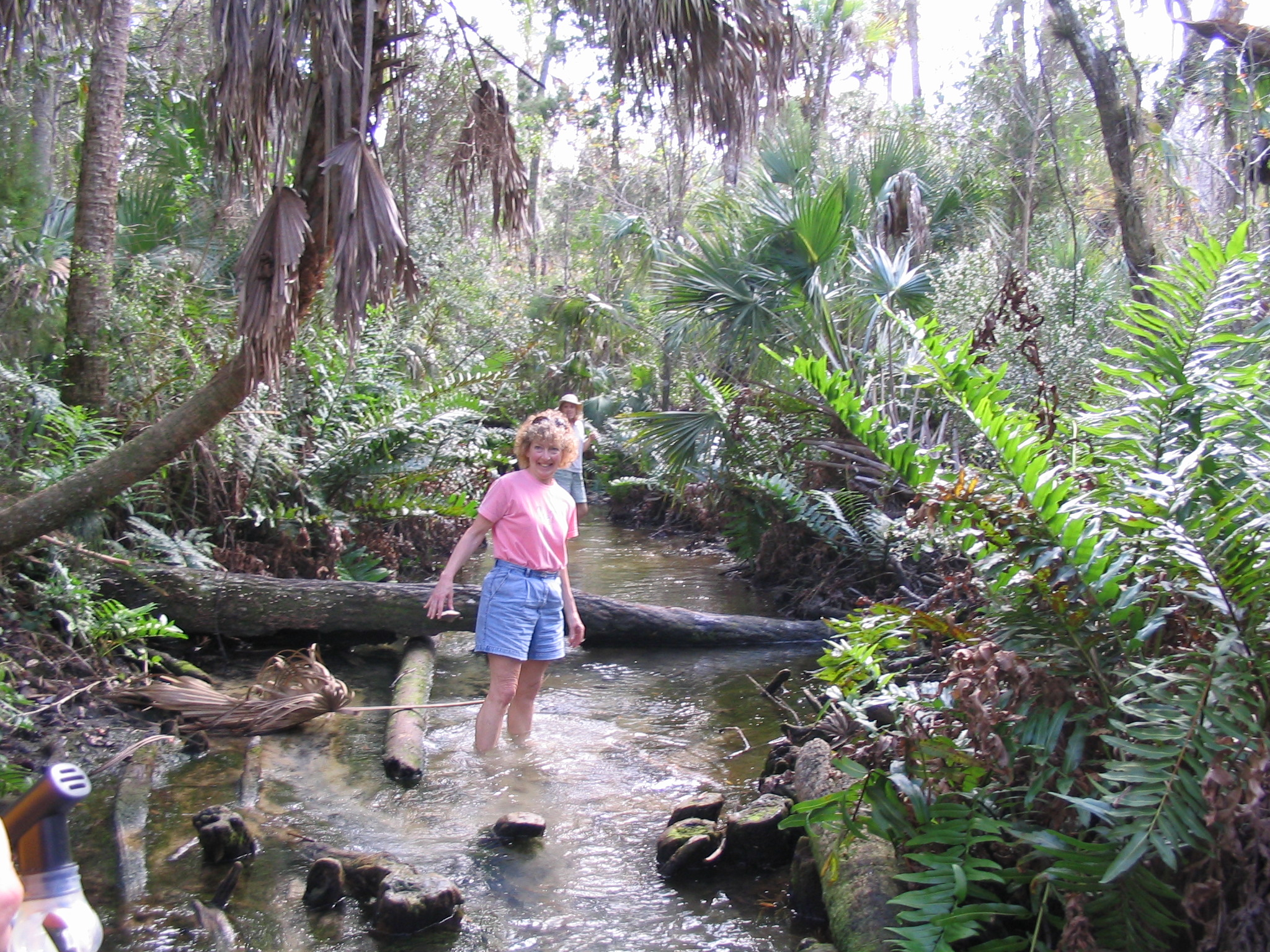 Jean at Chassahowitzka